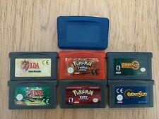 6x Gameboy advance,Joblot Pokemon Zelda Etc Ruby Firered four swords (P37)