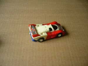 McDONALDS  TOMY COMMANDRONS TRANSFORMERS RACE CAR