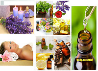 PURE AND NATURAL ESSENTIAL OIL FROM INDIA FREE SHIPPING 10 ML to 100 ML