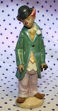 Lladro Gres CIRCUS SAM Clown Figurine Violin Musician Instrument Retired #2328