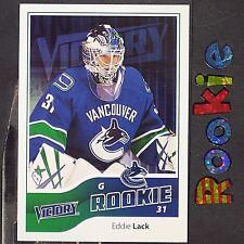 EDDIE LACK  RC  2011/12  UD  Victory  ROOKIE  #308  Vancouver Canucks