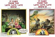 It Came From The Late Late Late Show I & II Role Playing in Bad Movies full set