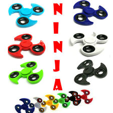 Fidget Finger NINJA Spinner Hand Focus Spin Steel EDC Bearing Stress Toys UK