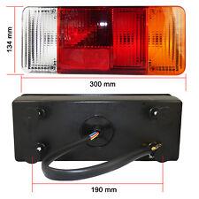 2x Rückleuchte Pritsche Rücklicht Heckleuchte für Fiat Iveco Daily LKW mit Kabel