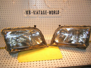 Mercedes W140 S600 95-99 XENON type headlight Bosch R & L  2 Assembly's,GERMANY