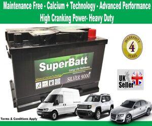 Vauxhall Car & Van OEM Replacement Battery TYPE 096 - SuperBatt 096