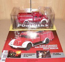 Camions Sapeurs Pompiers Hachette/Ixo 1/43 Magirus Deutz Mercur TLF 15