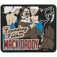 Maxpedition Ben Franklin Mack Rubber Moraal Patch Funny Klittenband Badge Full C