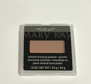 Mary Kay Mineral Bronzing Powder SANDSTONE Duo 016165 NEW OLD STOCK