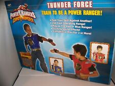 Power Rangers Dino Thunder Roleplay Set Thunder Force Red Ranger Blue Ranger