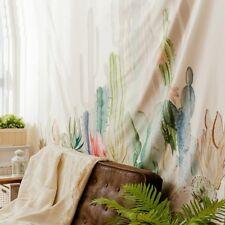 Cotton Wall Hanging Cactus Tapestry Bohemian Cover Beach Towel Throw Blanket JIU