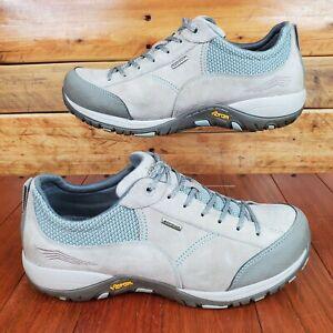 Dansko 41 Paisley Women's Size 10.5-11 Stone Suede Lace-up Waterproof Shoes