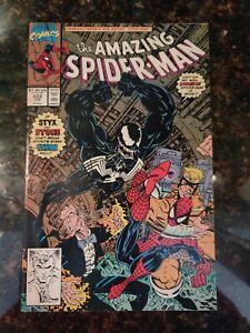 Amazing Spider-Man #333  (1990) Classic Venom cover, Erik Larsen art