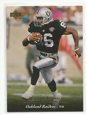 RAGHIB ROCKET ISMAIL 1995 Upper Deck Football card #224 Oakland Raiders