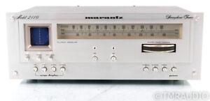 Marantz Model 2110 Vintage Analog AM / FM Tuner; Rare; Fully Tested