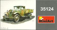 MiniArt 35124 - GAZ AA Cargo Truck - 2 Figures - russischer LKW - 1:35