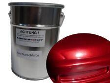 1 Liter Spritzfertigen Basislack Deep Candy Red Metallic Autolack Lackpoint !
