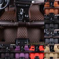 For Tesla S Car Floor Mats Luxury Custom FloorLiner Auto Mats Carpets 2012-2018
