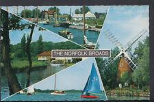 Norfolk Postcard - Views of The Norfolk Broads   BR95
