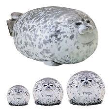 Soft Plush Chubby Blob Stuffed Animal Toy Cute Ocean Seal Doll Pillow 30/40/60cm