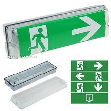 LED Notleuchte Notbeleuchtung Exit Fluchtweg Fluchtwegleuchte Licht Notausgang