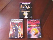 COWBOY BEBOP Le Film + METROPOLIS - Coffret 2 DVD