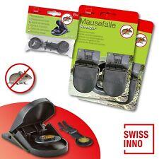 2 x 2 Stück Swissinno SuperCat Mausefalle + 1 x 6 Stück Ersatzköder