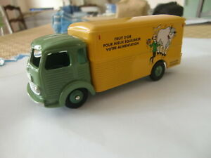 Camion Dinky Simca cargo pub Tintin Tournesol