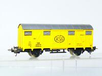 Lima 303164 H0 2-achsiger gedeckter Güterwagen Glmhs 50 ASG der DB, gelb