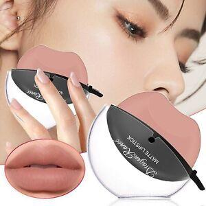Lazy Lipstick Girls Matte Makeup Waterproof Long Lasting Non-Stick Cup Lip Gloss