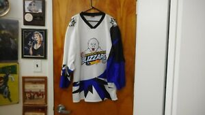 Brookings Blizzard NAHL 100% Sewn Minor League Throwback Jersey