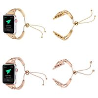 Stainless Steel Band Strap Bracelet Watchband For Apple Watch iWatch 38mm 42mm