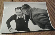 PHOTO CARD OLYMPIA 1936 SONJA HENIE