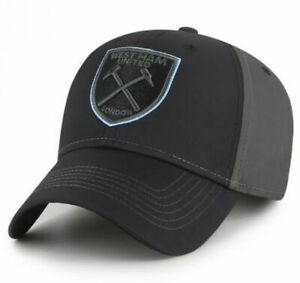 West Ham United FC Baseball Cap Hat Blackball Adult 55-61cm Official Merchandise
