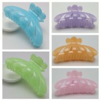 Large Jelly Tone Color Plastic Hair Claw Clamp Clips 115mm Lady Women Fashion