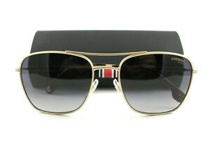 Carrera Sunglasses 130/S Gold Gray Authentic New Reg. $150