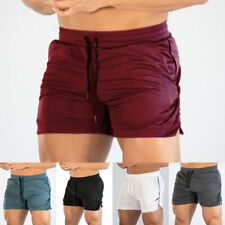 Men's Gym Shorts Training Running Sport Workout Jogging Pants Trousers S-2XL