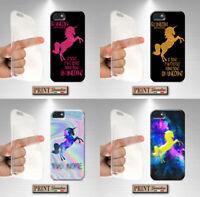 Coque Pour  Samsung Effet Glitter Licorne Fantastique Silicone Doux Savons de