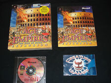 Age of Empires Rise of Rome Expansion Big Box Complete Original release