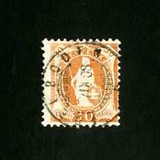 Switzerland Stamps # 121 VF Used Catalog Value $32.50