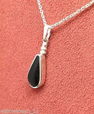 whitby jet and sterling silver pendant jp115 hand made in whitby