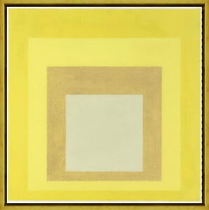 Framed Josef Albers Untitled- Giclee Canvas Print Paintings Poster Reproduction
