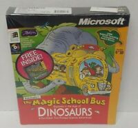 The Magic School Bus Explores in the Age of Dinosaurs (PC, 1996) New Sealed Rare