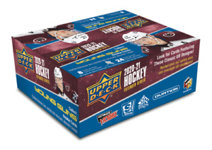 2020-21 Upper Deck EXTENDED Series Hockey Retail Box Factory Sealed