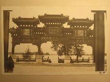 ANTIQUE CHINA PEKING 1912  SCULPTURES ARTISTIC ARCHITECTURE DRAGON RARE PHOTOS