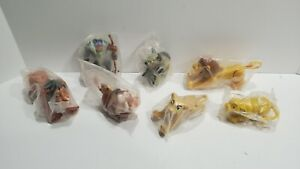 1990s Burger King THE LION KING set of (7) complete figures NEW IN PACKAGES MINT