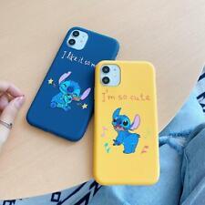 Cartoon Stitch TPU Soft Phone Case Cover For iphone 11 Pro Max X XR 6 7 8Plus