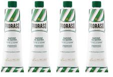 Proraso Shaving Cream, Refreshing and Toning, 5.2 oz (4 Pack)