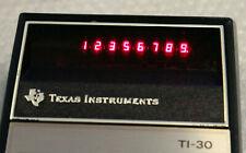 1976  Vintage Taschenrechner Texas Instruments TI-30 der Erste