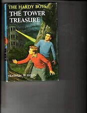 Hardy Boys Tower Treasure Hardcover # 1 Franklin W. Dixon Book 1959 Grosset DK2